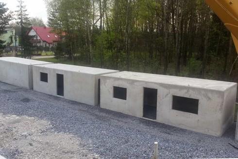 Garaże Betonowe Prefabrykowane Farba Do Posadzek Betonowych