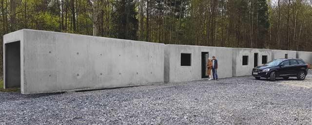Kontenery żelbetowe Mieszkalne Biurowe Garaże Piwniczki