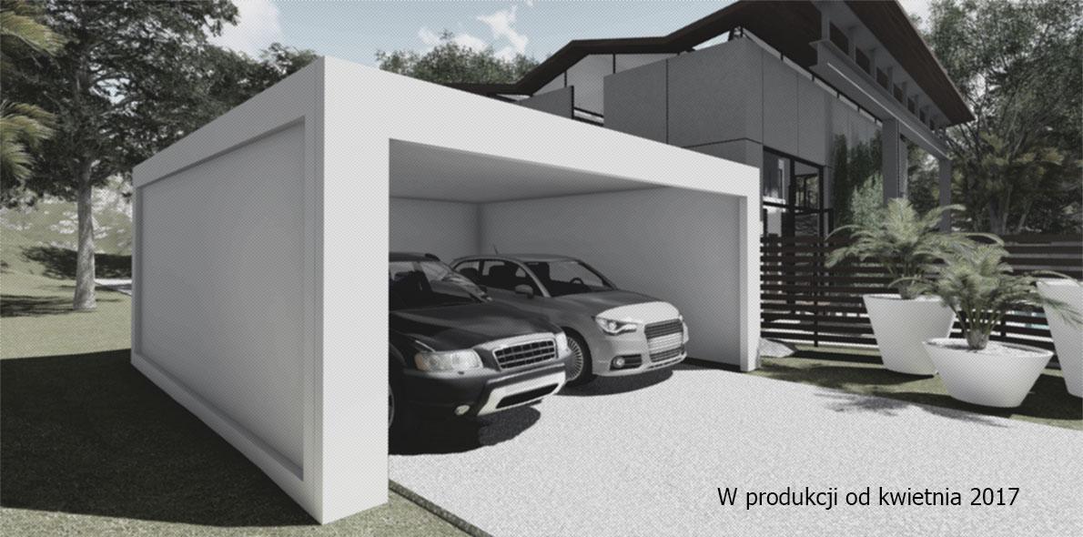 Garaże betonowe podwójne