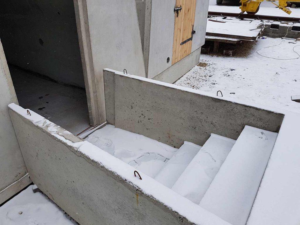 Prefabrykowane schody żelbetowe