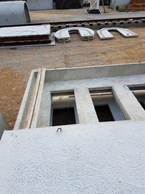 Ziemianka betonowa. Montaż piwniczki betonowej.