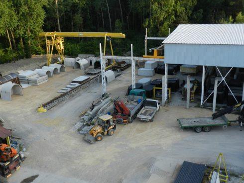 Producent ziemianek betonowych - piwniczek wkopywanych w ziemię.